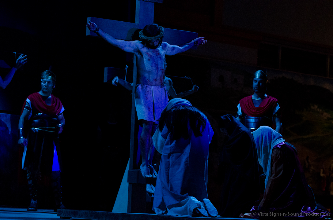 """Way of the Cross"" performed at Saint Paul the Apostle"